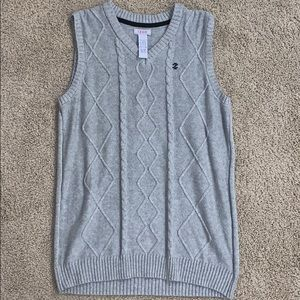 IZOD grey sweater vest